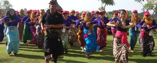 Paket Outbound Di Bali BNI - Werkudara - Menari