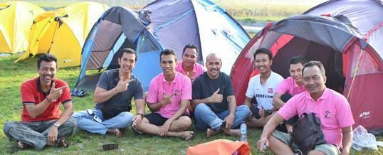 Outbound di Bali Tema Paintball & Camping – Bank Mandiri