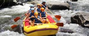 Corporate Outbound Training - Kombinasi Rafting