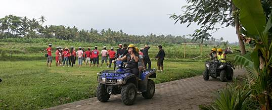 Outbound Bali Pertiwi Paintball Bongkasa