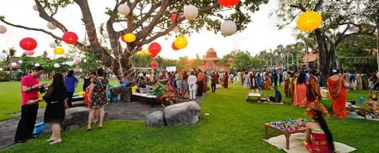 Paket Outbound Bali Taman Bhagawan Tanjung Benoa Dusa Dua - Standing