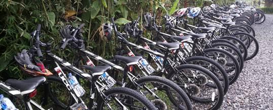 Paket Outing Perusahaan di Bali - Kintamani Cycling & Ayung Rafting