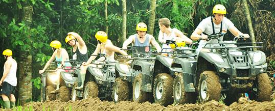ATV Quad di Bali Pertiwi Adventure