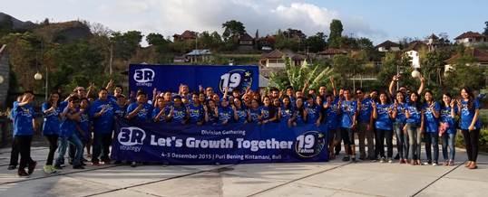 Outbound di Bali Lokasi Kintamani XL Axiata 041215 01