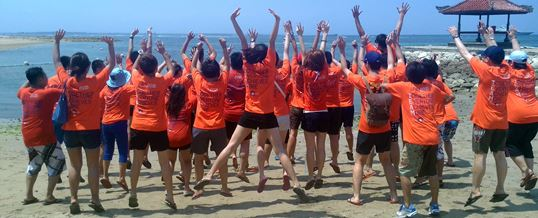 Adventure Outbound Outing Gathering di Bali 2015