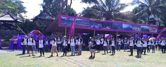 Outbound di Toya Devasya Kintamani Bali BRI 03 9192015