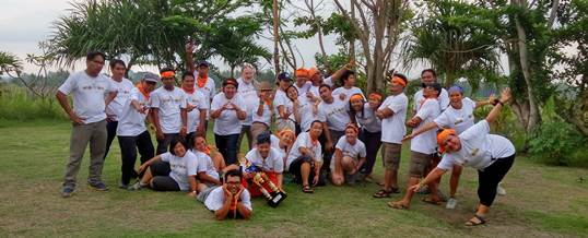 Outing Kantor - Coral Triangle Center - Amazing Race 10