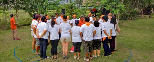 Outing Kantor - Coral Triangle Center - Amazing Race 6