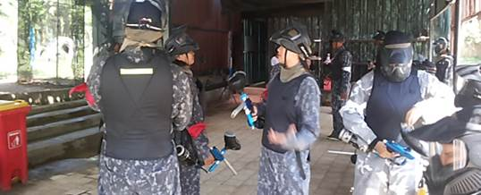 Paintball Di Bali Pertiwi Persiapan