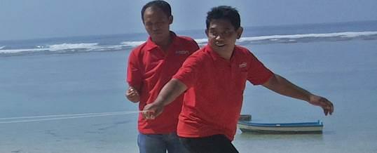 Team Building di Pantai Pandawa Bali KPPN