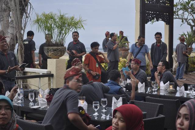 Outbound Bali Dinner GWK - Lintasarta 2