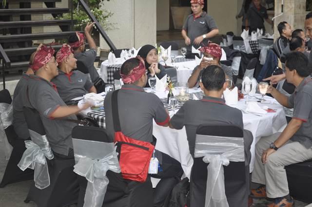 Outbound Bali Dinner GWK - Lintasarta 4