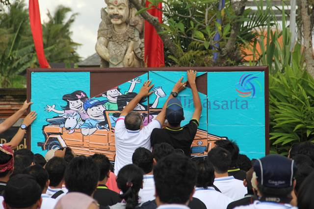 Outbound Di Bali Amazing Race Lintasarta 16