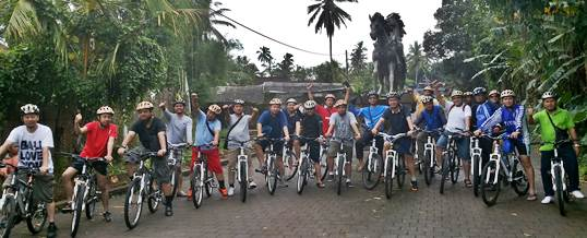 Paket Outbound Bali Amazing Race Cycling Bongkasa