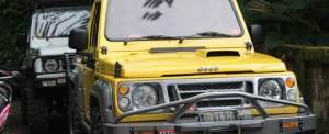Paket Outing Perusahaan Jeep Offroad 8