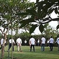 Outbound di Bali Istana Taman Jepun