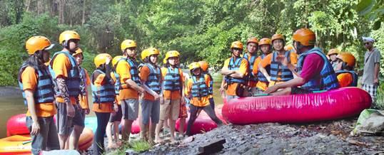 Tubing Ayug River Bali Armada Ubud