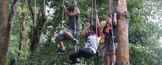 WWF Outbound Di Bali Jalan Gealng
