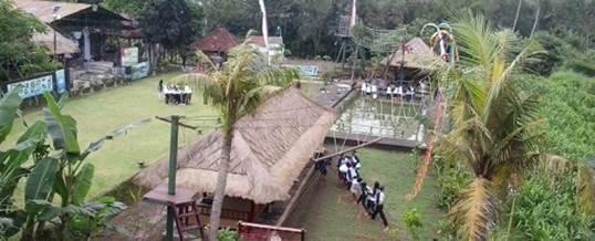 Outbound di Bali - Tirta Yasa Mambal Camp