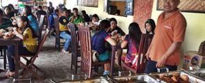 Outbound di Bali Agro Puncak Restoran