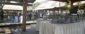 Outbound di Bali Tirta Yasa Lunch Buffet