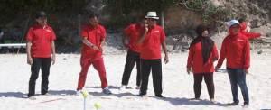 Outbound Pantai - KPPN Jatim - Sentosa Wisata