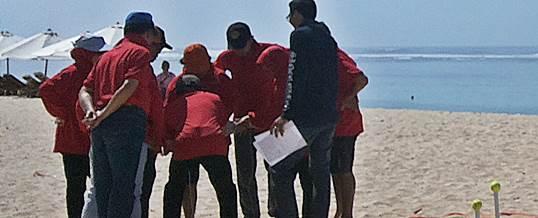 Outbound di Bali Lokasi Pantai Pandawa KPPN Jatim