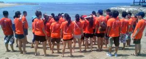 Outbound di Bali - The Susshi Bar Siap Melompat