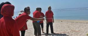Team Building Pantai Pandawa Bali KPPN Jatim