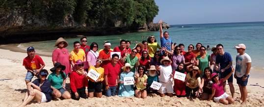 Fun Team Building - HSBC Jakarta - Pantai Padang Padang Bali 10