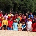 Fun Team Building - HSBC Jakarta - Pantai Padang Padang Bali 9