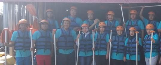 Gathering Tema Wisata Adventure Rafting - PT. Indo Global Trade 5