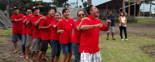Outbound Team Building - Ace Hardwere Bali 5