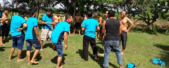 Outbound Team Building Game - PT Tri Wahana Universal II 8