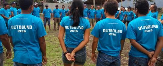 Outbound Team Building - Sea Trek Bali 2
