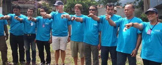 Outbound Team Building - Sea Trek Bali 4