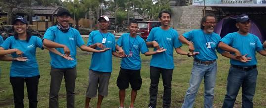 Outbound Team Building - Sea Trek Bali 5
