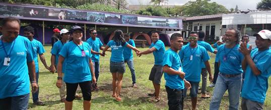 Outbound Team Building - Sea Trek Bali 9