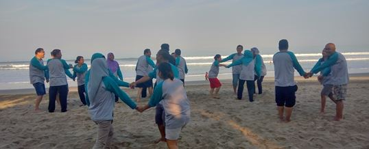 Outbound di Bali Transforming Human Resource 02