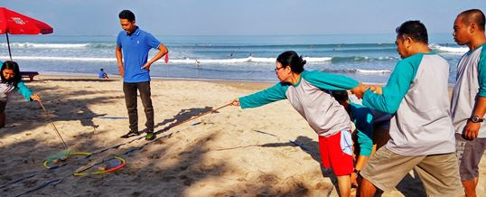 Outbound di Bali Transforming Human Resource 07