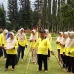 Outbound di Candi Kuning Bedugul, Bali - SDN Kota Kulon 1 Garut 8