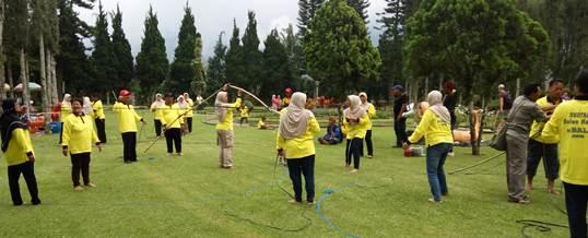 Outbound di Candi Kuning Bedugul, Bali - SDN Kota Kulon 1 Garut 9