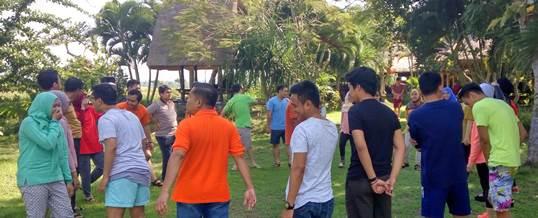 Outbound di Fun Team Building - Bank Mandiri Jakarta 2006161