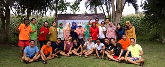 Outbound di Fun Team Building - Bank Mandiri Jakarta 20061610