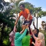 Outbound di Fun Team Building - Bank Mandiri Jakarta 2006164