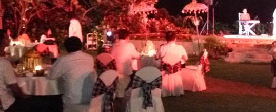 Outbound di Pantai & Single Electone Gala Dinner - Telkomsel Jakarta 1