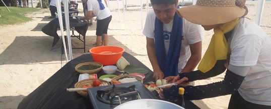Tema Acara Outbound Cooking Competition - CTBC Bank