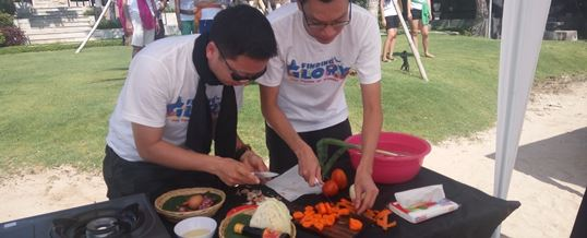 Tema Event Outbound di Bali Cooking Competition - CTBC Bank