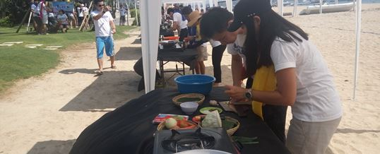 Tema Outbound di Bali Cooking Competition - CTBC Bank