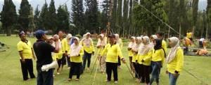 Outbound di Candi Kuning Bedugul, Bali - SDN Kota Kulon 1 Garut 812072016